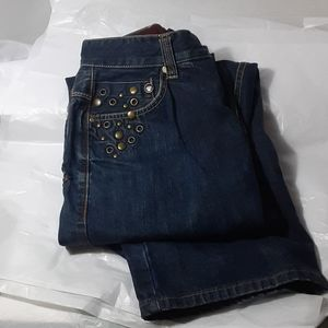 Size 32 Enyce denim Jean's with metal studs
